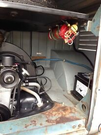 Aircooled works fire suppression system