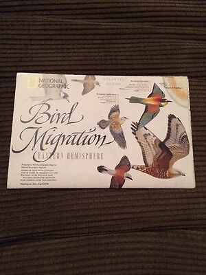 Map Bird Migration National Geographic