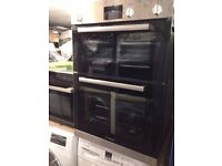 BOSCH HBM13B150B Electric Double Oven - Brushed Steel