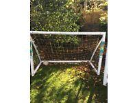Football goals. Goal posts