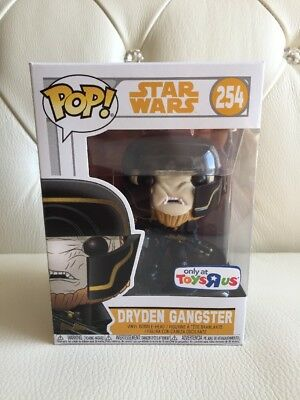 Star Wars Dryden Gangster Toys R Us Exclusive Funko Pop #254