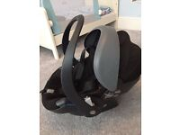 Stokke Be Safe Izi Go car seat 0-12 months in good condition-post it