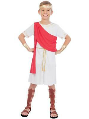 Childs Toga Boy Fancy Dress Costume Roman Greek Emperor Book Week Day New Kids