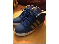 High Tops Adidas Woman's Size 5 And Half