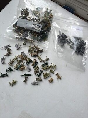 AIRFIX 1/72 Scale HO OO Plastic Army Soldiers  Over 275 Pcs WWII And Modern