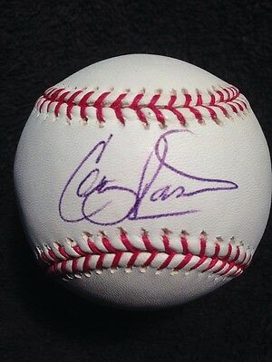 Colby Rasmus Signed Major League Baseball Single AUTO Autographed ASTROS