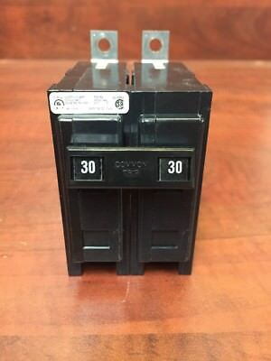 Circuit Breaker Cutler Hammer Ba2030 Ba230 Bab230 Bab2030 30amp Quicklag Bolt On