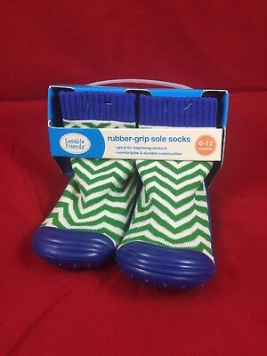 Luvable Friends Rubber Grip Sole Socks