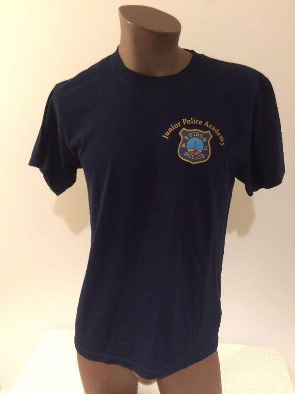 Edison New Jersey Junior Police Academy Medium Tshirt NJ