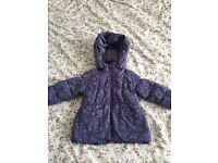 Lovely jacket and coat for girl size 12-18m