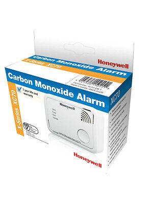Honeywell XC70 Carbon Monoxide Alarm Detector Latest X-Series 7 Yr Sealed Unit !