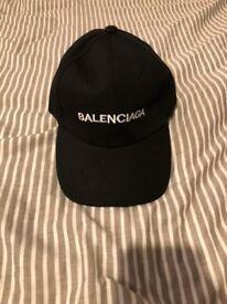 Black Balenciaga Hat/Cap - Never Been Worn