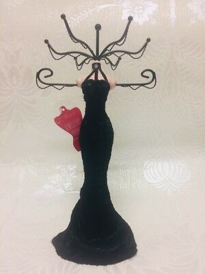 Jewelry Necklace dress Holder/stand black dress Christmas Gift