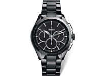 Rado black ceramic chronograph hyperchrome automatic watch (RRP £3390.00)