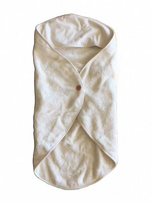 Natural Organic Cotton Baby Blanket Bath Towel Newborn Best for Sensitive