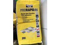 Tile adhesive - Two bags