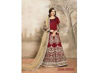 Aanaya-12 Heavy Embroidered Anarkali Suit