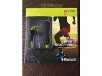 Goji Sport Ear Fin Wireless Sports Headphones GSFINTBT17 - RRP £32.70