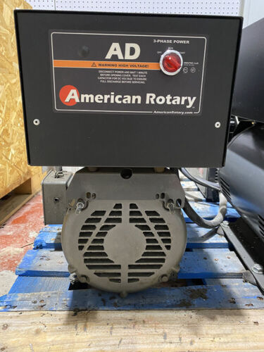 American Rotary Phase Converter AD10 - 10HP 1 to 3 Three PH Converter