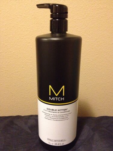 Paul Mitchell Mitch Double Hitter 2 In 1 Shampoo and Conditi