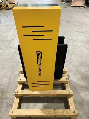 Chicago Blower Size 11 Industrial Fan 2746 Rpm W 7.5 Hp Baldor Reliance Motor