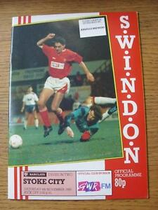 21-11-1989-Swindon-Town-v-Bolton-Wanderers-Item-in-very-good-condition-no-obv
