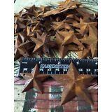 "100 TOTAL Rusty Barn Stars (50) 1.5"" & (50) 2.25"" Country Rust Rustic Prim *"