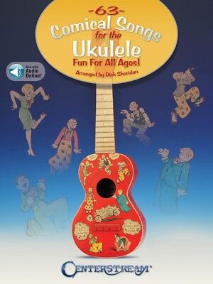 63 Comical Songs for the Ukulele Sheet Music Fun for All Ages Book 000279888