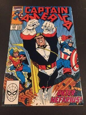 CB4 Captain America #379 (Nov 1990, Marvel)