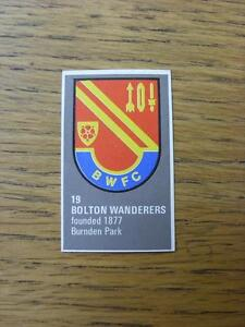 1971-1972-Bartholomew-Football-Map-Club-Badge-Cut-Out-019-Bolton-Wanderers
