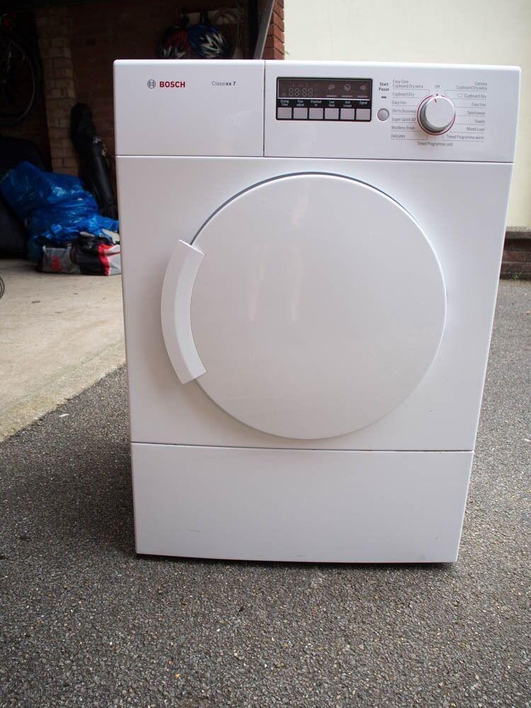 Bosch Classixx Condenser Dryer Manual