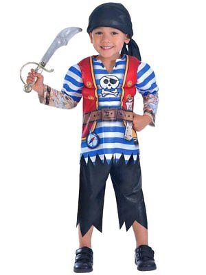 Pirat / Seeräuber Kinder-Kostüm für Jungen Piraten-Kostüm