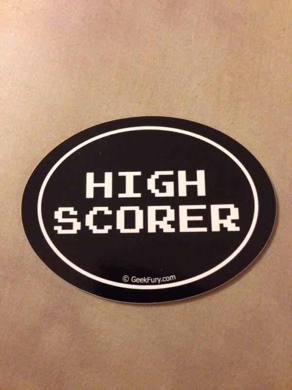 High Scorer Bumper Sticker