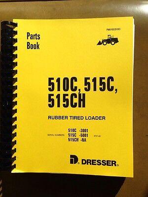 Dresser Ih 510c 515c Wheel Loader Parts Manual Catalog Book Pc510c515c Komatsu