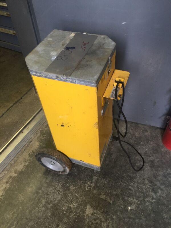 Phoenix Dryrod II Type 5 Portable Electrode Oven on Wheels 50 Lb Capacity Rod