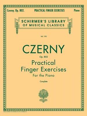 Czerny Practical Finger Exercises Op. 802 Complete Piano Technique NEW 050253360