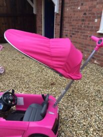 Pink Audi Push Buggy