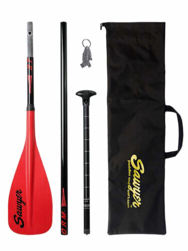 Sawyer Storm 3 PIECE TRAVELER SUP PADDLE 100in2 (Red)