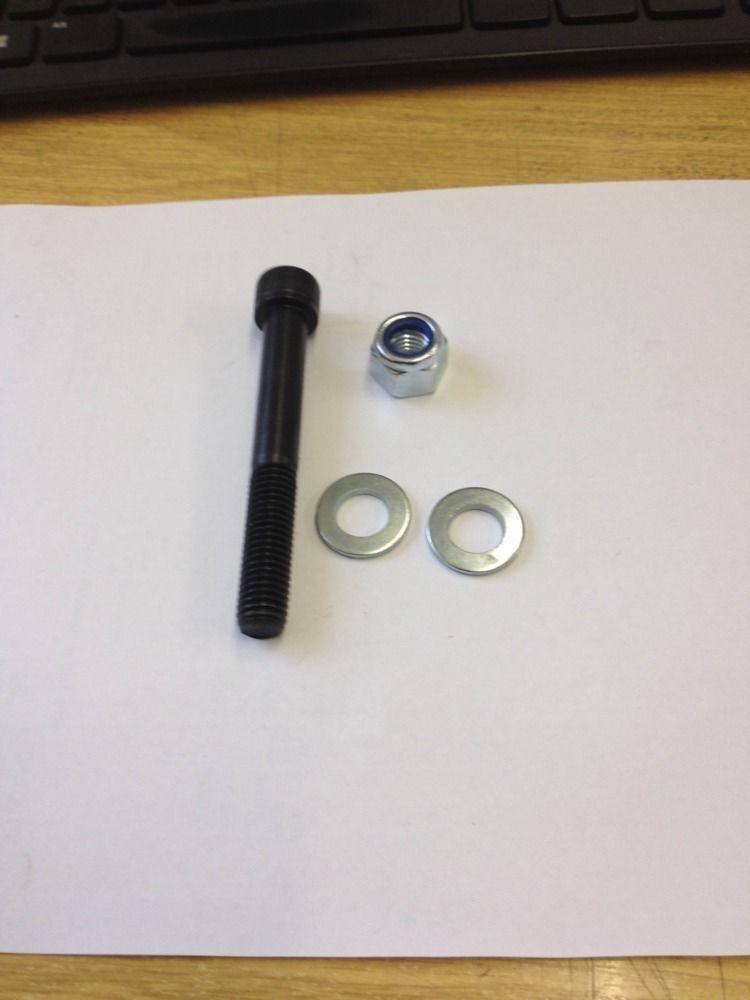 Nyloc /& Washers M12 Cap Head Allen Screw Bolts 16-150mm 12.9 Grade High Tensile