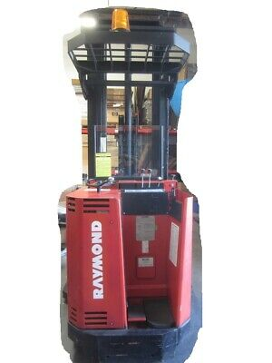 2002 Raymond Reach 24v Fork Lift 201-ra30tt 888-hrs In Great Condition