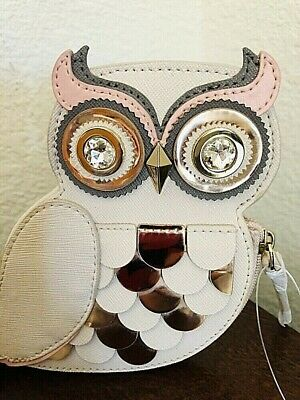 Kate Spade New York Blaze A Trail Owl Coin Purse Graduation Gift Collectible