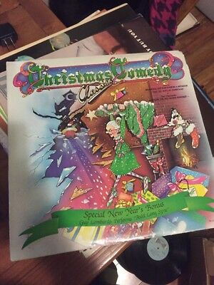 Christmas Sealed Lp Various Artists Christmas Comedy Classics On Capitol * E/VG ()