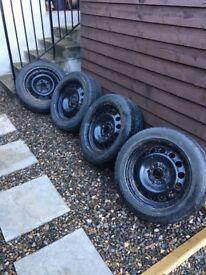 "BMW 16"" winter wheels"