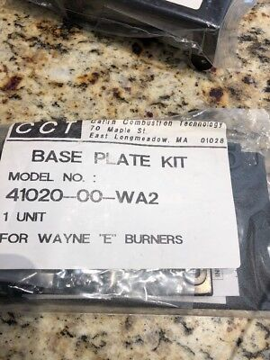 Carlin 41020-00-wa2 Base Plate Kit For Wayne E Burners New In Package