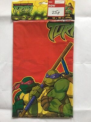 Teenage Mutant Ninja Turtles Themed Party Tablecloth / Tablecover 120mm x 180mm - Ninja Turtle Themed Party