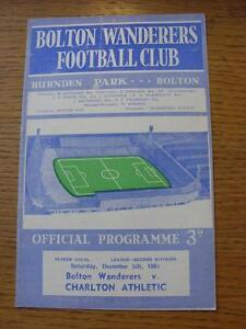 05-12-1964-Bolton-Wanderers-v-Charlton-Athletic-Item-in-very-good-condition-n