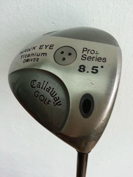 Gallaway Hawk Eye Titanium Driver for sale