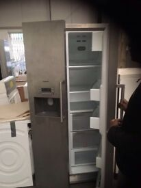 Stainless American fridge freezer.....fully working Free Delivery