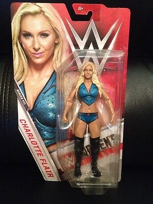 WWE Charlotte Flair Basic Assortment Action Figure Mattel Series 86 loose