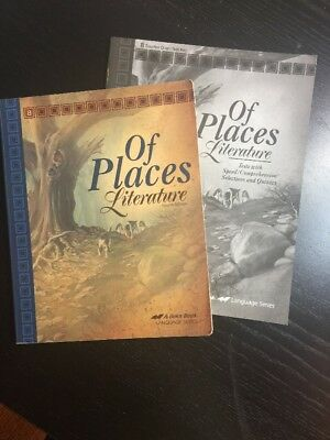 Of Places Literature 4th Ed. Text Book AND Teacher Quiz/Test Key Grade 8 A Beka, used for sale  Cleveland